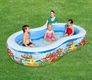 New & Wide Play Pool For Kids With 2 Rings. | Garden for sale in Lagos State, Ikeja
