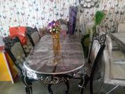 Italian Royal Dining Table With Six Royal Chair | Furniture for sale in Lagos State, Ikeja