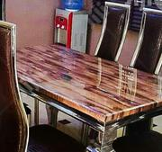 Marble Dining Table by Six | Furniture for sale in Oyo State, Afijio