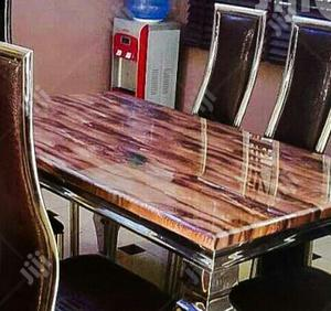 Marble Dining Table by Six