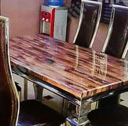 Portable by Six Marble Dining Table | Furniture for sale in Oyo State, Akinyele