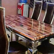 Marble Dining Table With Chairs | Furniture for sale in Oyo State, Atiba