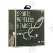 Remax RB 20 Sports Wireless Headset | Accessories for Mobile Phones & Tablets for sale in Lagos State, Ikeja