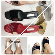 Low Glass Heel Slippers | Shoes for sale in Lagos State, Ikoyi