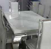 Marble Dining Table by Six | Furniture for sale in Oyo State, Egbeda