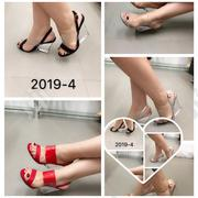 Wedge Double Strap Glass Heel Sandal | Shoes for sale in Lagos State, Ikoyi