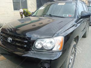 Toyota Highlander 2002 Black