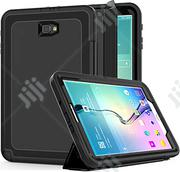 Full Rugged Hybrid 3-layer For Samsung Tab A6 10.1 T580/T585 | Accessories for Mobile Phones & Tablets for sale in Lagos State, Ikeja