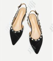 Quality Ladies Black Sandals | Shoes for sale in Lagos State, Ojodu