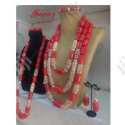 Real Edo Coral Set For Couple | Wedding Wear for sale in Lagos State, Alimosho