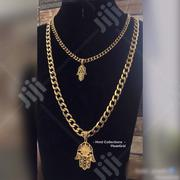 Exclusive Cuban Neckchain With Bell 🔔 Pendant | Jewelry for sale in Lagos State, Lagos Island