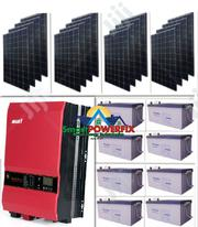 Go Solar... 5kva Solar Powered Inverter Installation | Building & Trades Services for sale in Abuja (FCT) State, Gwarinpa