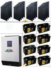 Solar Powered 5kva Inverter Installation With 8 Index Batteries | Building & Trades Services for sale in Abuja (FCT) State, Jabi