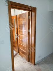 Seasoned Mahogany Door With Frame | Doors for sale in Lagos State, Mushin