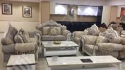 Set Of Italian Simple Royal Chair With Center Table And Tv Stand | Furniture for sale in Lagos State, Ikeja