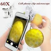 Mobile Phone Clip Microscope Magnifier | Accessories for Mobile Phones & Tablets for sale in Lagos State, Ikeja