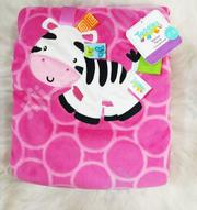 Taggies Baby Girl's Soft, Fluffy Blanket | Babies & Kids Accessories for sale in Rivers State, Port-Harcourt