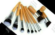 11 Pieces Bamboo Makeup Brush Set | Makeup for sale in Lagos State, Agege