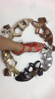Classic Low Heel Designer Sandals | Shoes for sale in Lagos State, Surulere