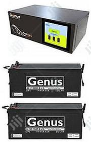 Extreemly Rugged Genus 1.5kva Inverter With 2 Genus Batteries | Electrical Equipment for sale in Abuja (FCT) State, Kuje