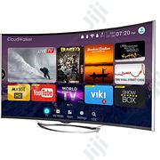 Hissence 55' Inches Curved Smart 4k UHD TV | TV & DVD Equipment for sale in Lagos State, Lagos Island