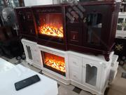Imported Royal Electric Fire Place Tv Stand For Your Home | Furniture for sale in Lagos State, Agboyi/Ketu