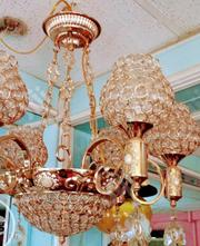 Gold Cup Chrystal Chandelier. | Home Accessories for sale in Lagos State, Ikeja