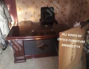 A New High Quality Executive Office Table Wit Extension Mobile Drawer | Furniture for sale in Lagos State, Ojodu