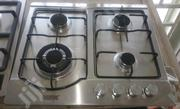 4 Burner Stainless Steel Gas Hob | Kitchen Appliances for sale in Lagos State, Orile