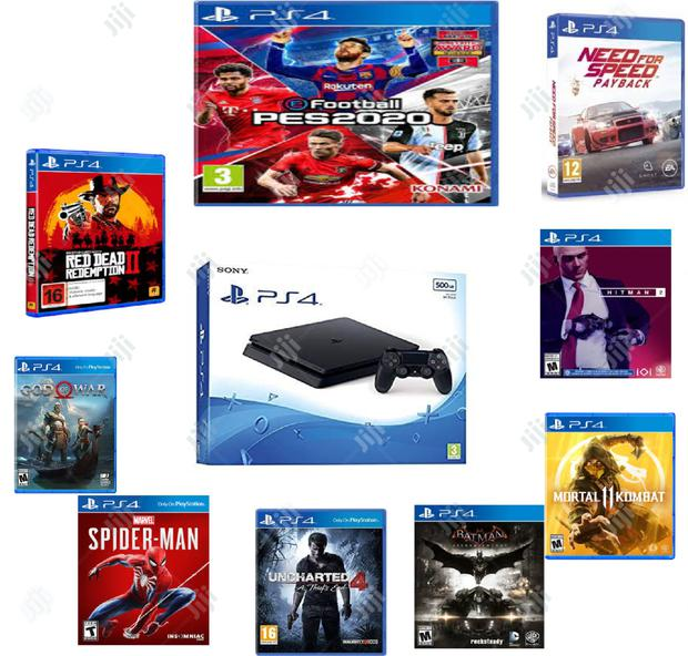 Archive: Ps4 Slim With Latest Game: Pes20, Fifa19, Uncharted 4 And Other .