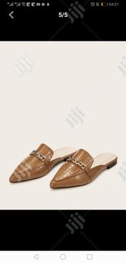 Genuine Brown Leather Ladies Half Shoes | Shoes for sale in Lagos State, Ojodu