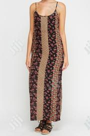 Mix Printed Casual Maxi Dress - 0080 | Clothing for sale in Lagos State, Amuwo-Odofin