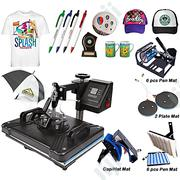 6 In1 Combo Heat Transfer Machine | Printing Equipment for sale in Lagos State, Ikeja