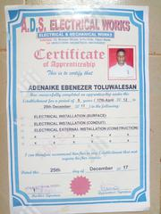 Electrical Works | Engineering & Architecture CVs for sale in Ogun State, Ijebu Ode
