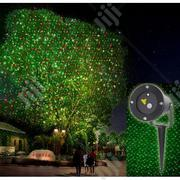 Water Proof Red & Green Xmas Laser Light Projector - Black | Stage Lighting & Effects for sale in Lagos State, Ikeja