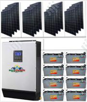5kva Solar Powered Inverter Installation With Solar Deka Batteries | Solar Energy for sale in Lagos State, Lekki Phase 1