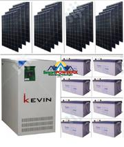 Solar Powered Kevin 5kva With Gaston Batteries | Solar Energy for sale in Lagos State, Ajah