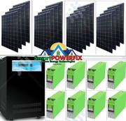 5kva Sinergy Inverter With MONBAT BATTERIES Solar Installation | Solar Energy for sale in Lagos State, Gbagada