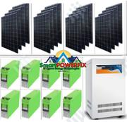 Solar Powered 5kva Genus Inverter With MONBAT BATTERIES Installation | Solar Energy for sale in Ogun State, Sagamu