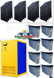 Solar Powered 5kva Inverter With Slim Rugged American Batteries | Solar Energy for sale in Lagos State, Magodo