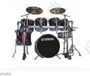 Yamaha 7set Drum (RACK) Wine Red | Musical Instruments for sale in Abuja (FCT) State, Galadimawa