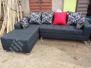 L Shape Sofa Chair With Colurful Marterial for Your Sitting Room. | Furniture for sale in Lagos State, Ikeja