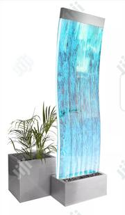 Buy Curved Bubble Water Wall It Also Has Colour Changing LED Lights | Home Accessories for sale in Abuja (FCT) State, Wuse II