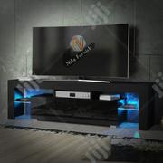 Available TV Stand High Gloss,,, It's Have LED Lights Remote Control , | TV & DVD Equipment for sale in Lagos State, Lekki Phase 2