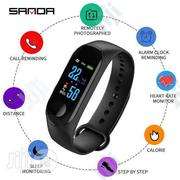 M3 Fitness Smart Watch Band Color Screen Bracelet | Smart Watches & Trackers for sale in Lagos State, Surulere