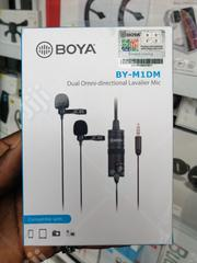 Boya Dual Omni-directional Lavalier Mic By-m1dm | Audio & Music Equipment for sale in Lagos State, Ikeja