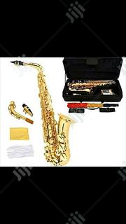 Yamaha Professional Alto Gold Saxophone With Accessories | Musical Instruments & Gear for sale in Lagos State, Ojo