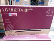 LG 43 Inches Smart TV 4k With Netflix | TV & DVD Equipment for sale in Lagos State, Ojo