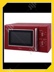 Midea 20 Litre MM720CE6 Microwave Oven - Red | Kitchen Appliances for sale in Ogun State, Abeokuta South