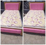 (6by3) Bed Frame With Mouka Mattress | Furniture for sale in Lagos State, Ojo